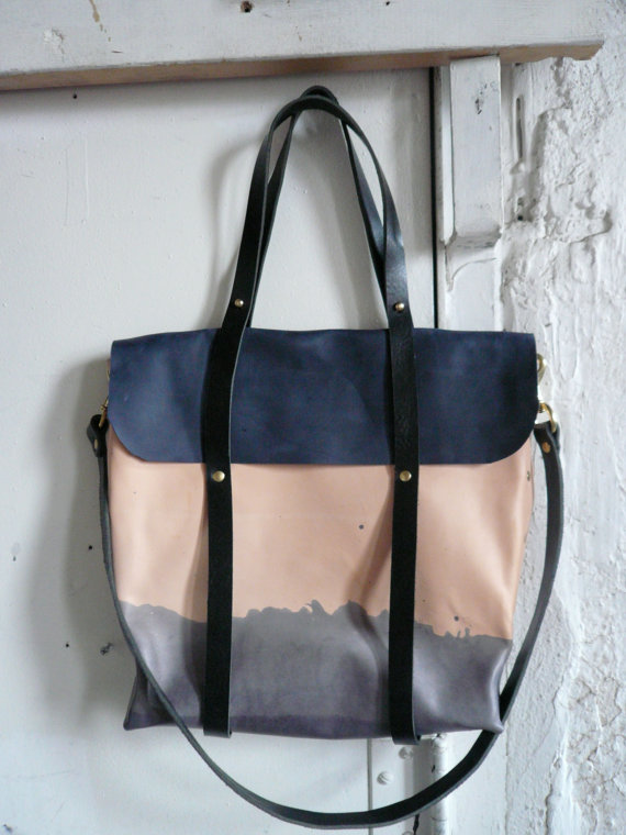tidal tote by fluxproductions on Etsy