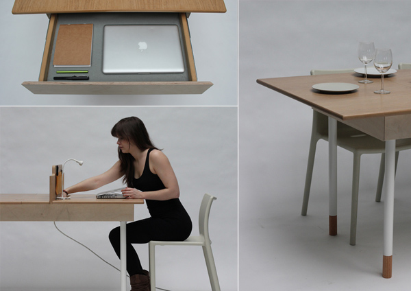 Table for Two by Daniel Liss » Yanko Design