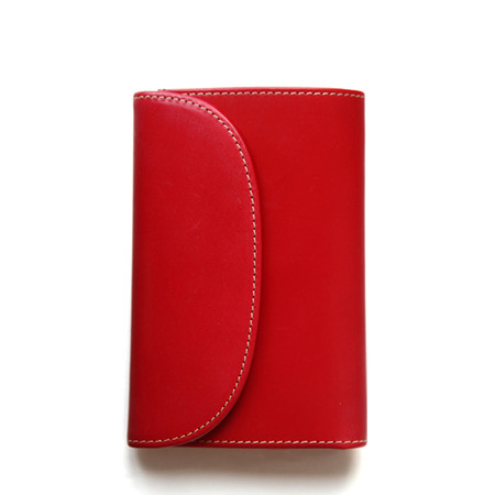 S7660 3FOLD WALLET/Red
