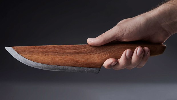 SKID - The Wooden Chef Knife | Indiegogo