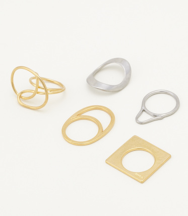 【ENFOLD/】◇TWIST RING SET   シェルター公式通販サイト The SHEL'TTER TOKYO