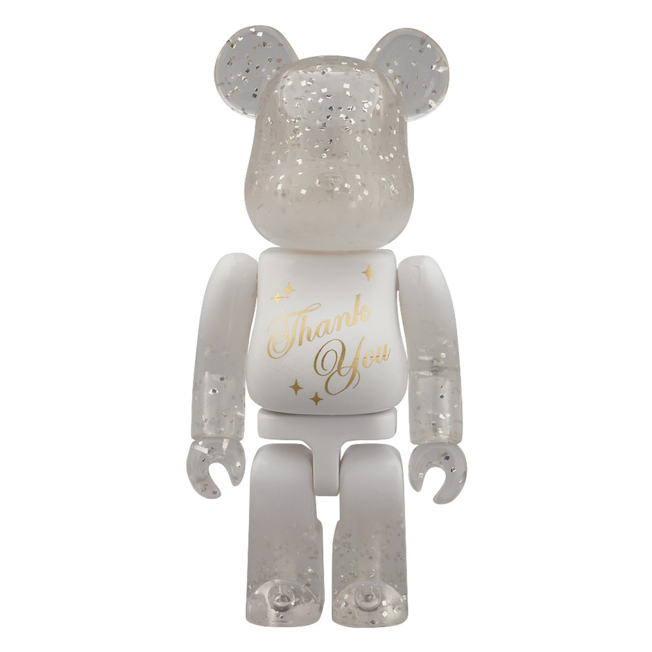 MEDICOM TOY - BE@RBRICK グリーティング Thank You