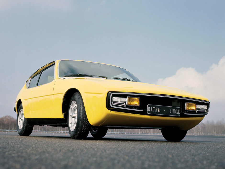 Matra Simca Bagheera 1974 - Mad 4 Wheels