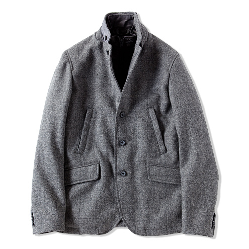 KIRKTON TWEED JACKET | COLLECTION | CASH CA | カシュカ
