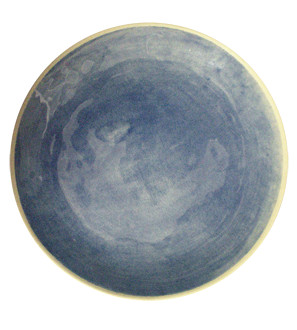 ORGANIC SAND DINNER PLATE - BLUE - Wonkiware - China - Eat & Drink - The Conran Shop US