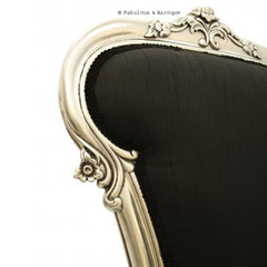 Fabulous & Baroque — Royal Fortune Montespan Bed - Black