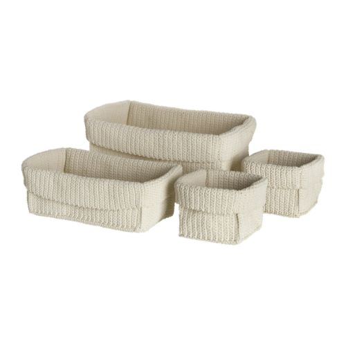 LIDAN Basket, set of 4 - IKEA