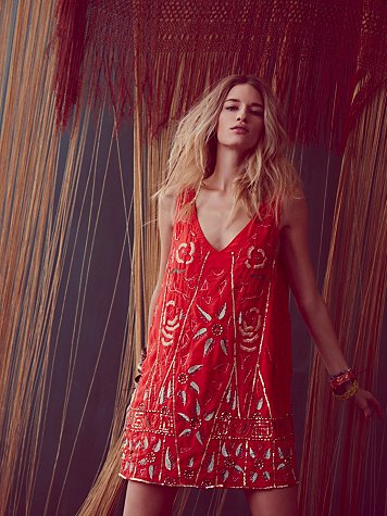 Free People Secret Garden Shift at Free People Clothing Boutique