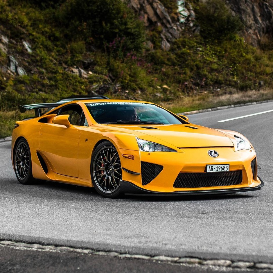 LFA Nürburgring Edition on the Oberalppass. Would you take... • intercars