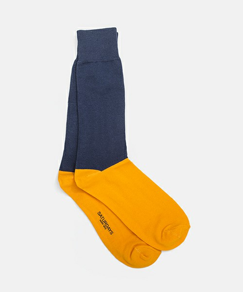 SATURDAYS SURF NYC / COLORBLOCK SOCK(ソックス/靴下) - ZOZOTOWN