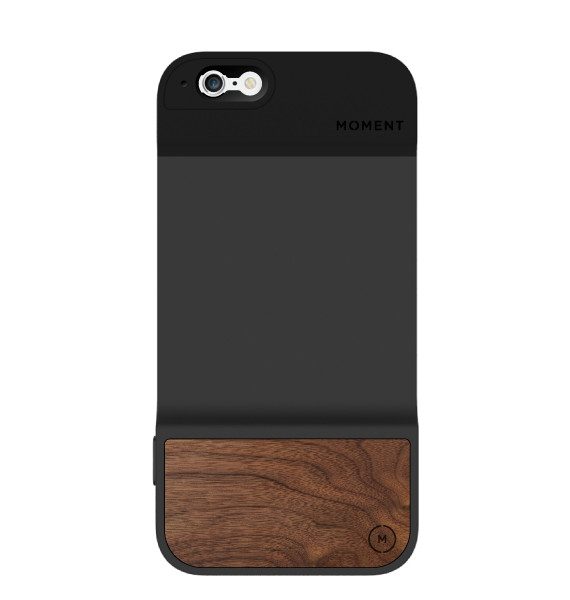 Moment iPhone Case - Walnut
