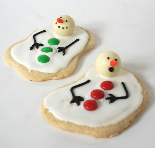 Melting Snowman Christmas Cookie by Jeanne Benedict & Friends
