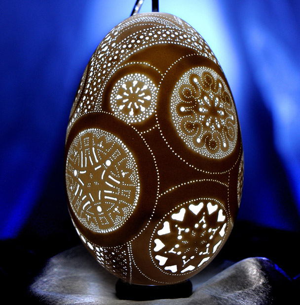 The Egg Artistry of Franc Grom: Food + Cooking : gourmet.com