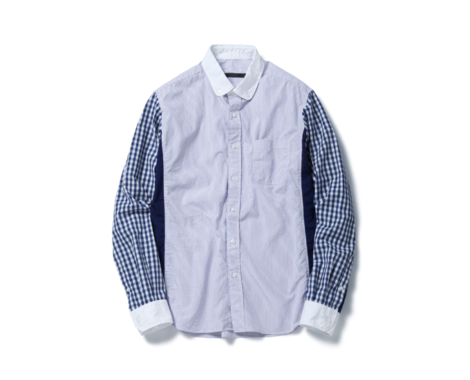 SOPHNET. | PRODUCT | ROUND COLLAR CLERIC B.D SHIRT