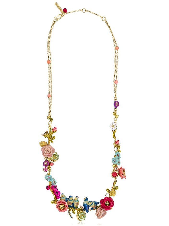 LES NÉRÉIDES - JARDIN D'AMOUR NECKLACE - LUISAVIAROMA - LUXURY SHOPPING WORLDWIDE SHIPPING - FLORENCE