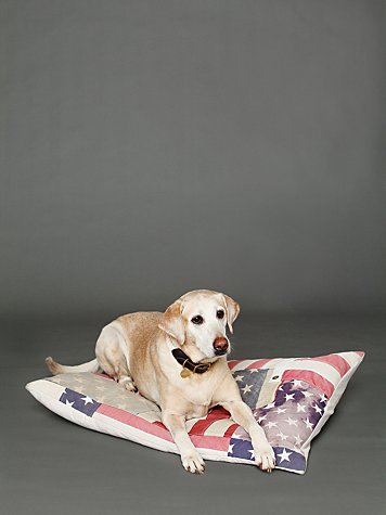 And Cake Vintage Flag Dog Bed at Free People Clothing Boutique