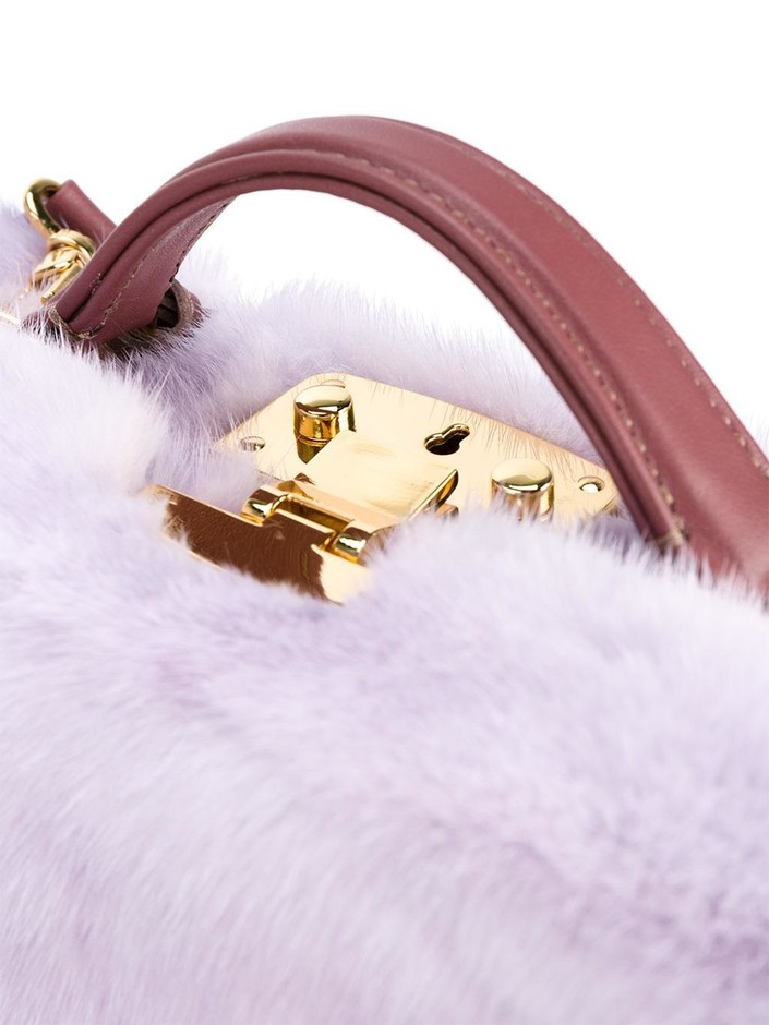 Natasha Zinko Mink Banana Shoulder Bag - Browns - Farfetch.com