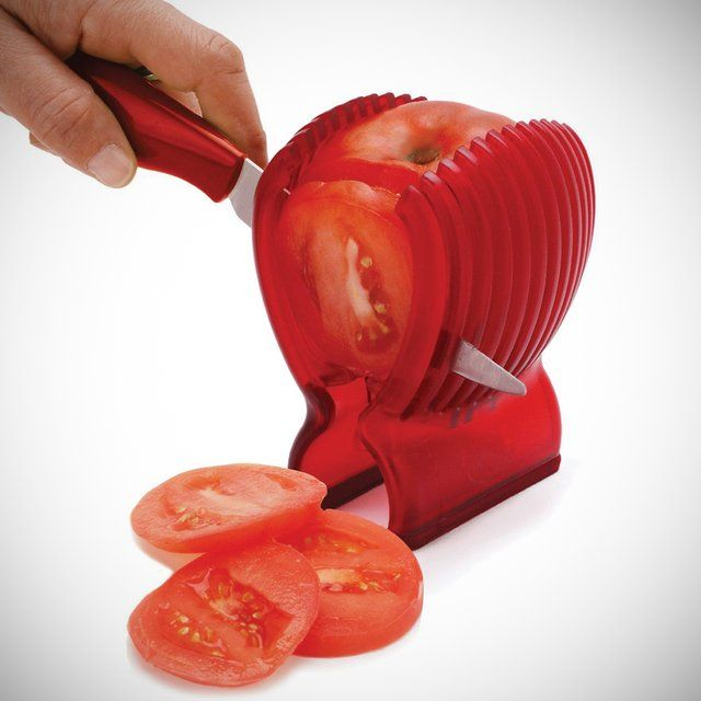 Tomato slicer and knife by Joie | kitchen