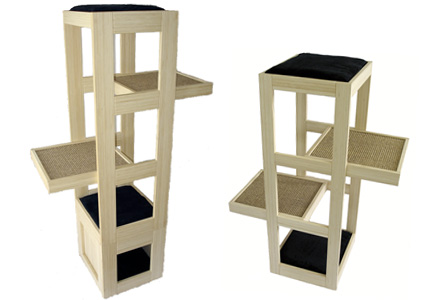 Eco-friendly Bamboo Climbing Towers|moderncat :: cat products, cat toys, cat furniture, and more…all with modern style