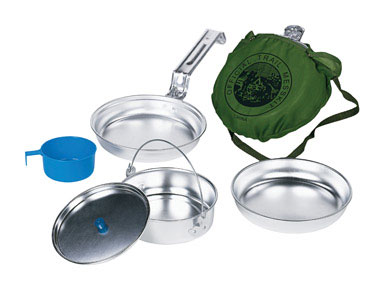 Departments - Cookware scout camp set