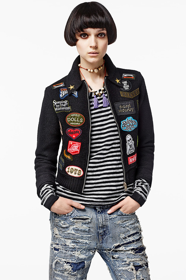 DIESEL WOMEN'S COLLECTIONS APPAREL FW14