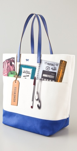 Anya Hindmarch Homework Tote | SHOPBOP