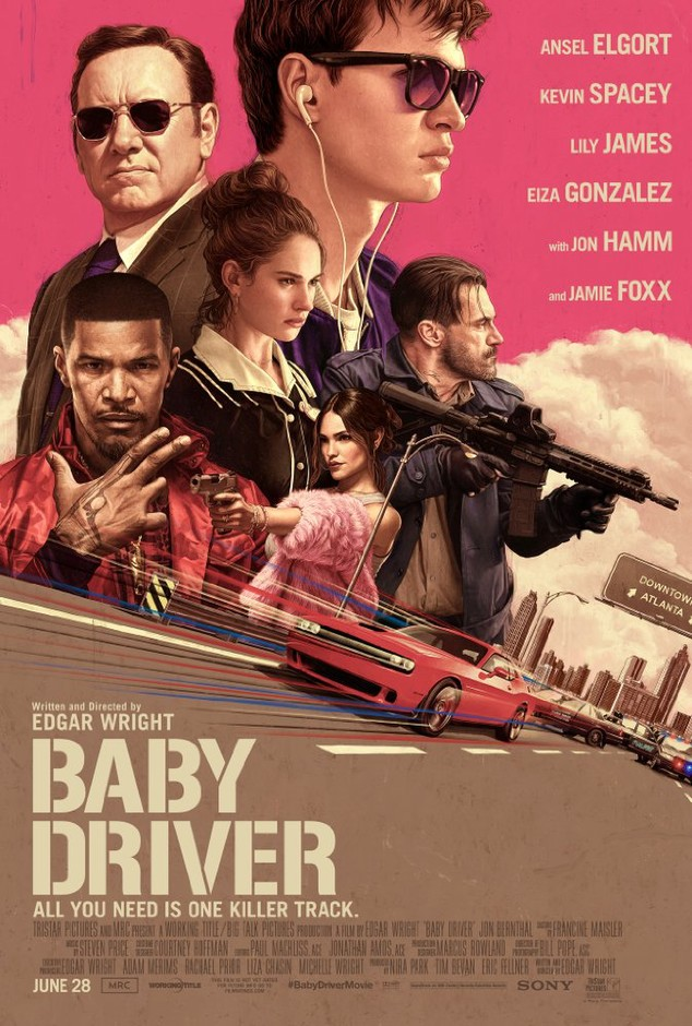 "The Songs That Made Edgar Wright Make ""Baby Driver"" 