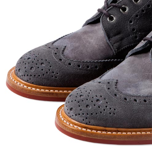 CASH CA x Tricker's Full Brogue Derby Boots -CAW12-AC0006 通販 | CASH CA (カシュカ) 正規販売店 WTD&W/E CONCEPT shop