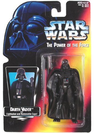 Amazon.com: Star Wars Power of the Force Darth Vader Action Figure: Toys & Games