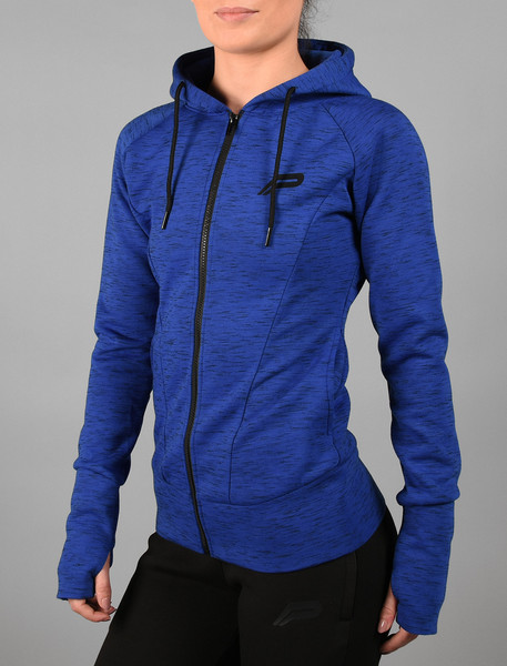 Pursue Fitness | Womens Iconic Full-Zip Jacket - Blue
