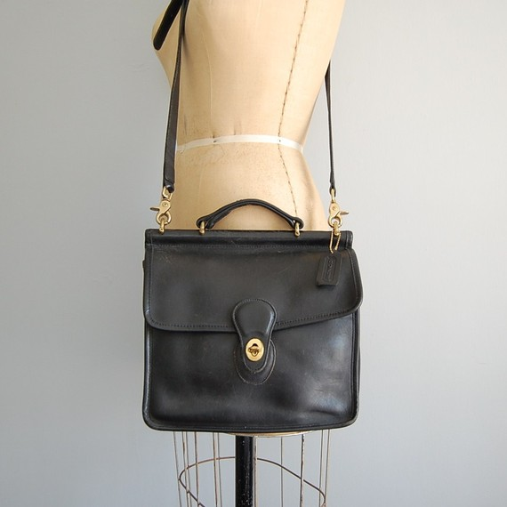 Etsy Transaction - vintage COACH large station satchel