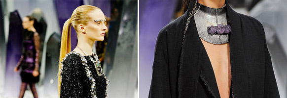 SHIMMER LIKE GOLD   // inspiration with a touch of sparkle.   » Chanel Fall 2012