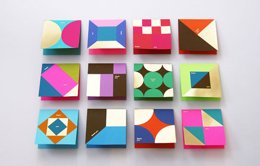 Design Work Life » BLOW: Astrobrights Thank You Cards