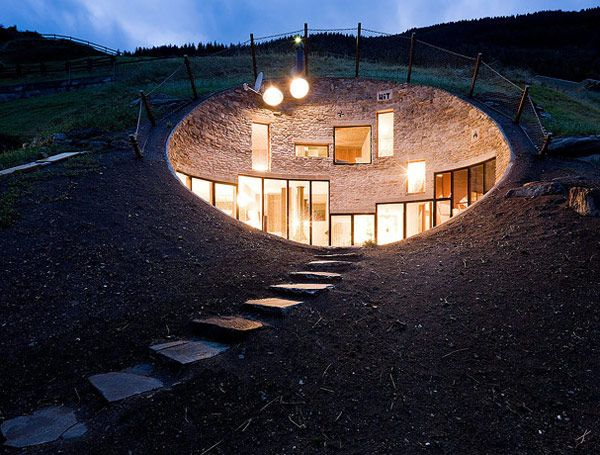 Incredible Underground Residence in Switzerland | Freshome