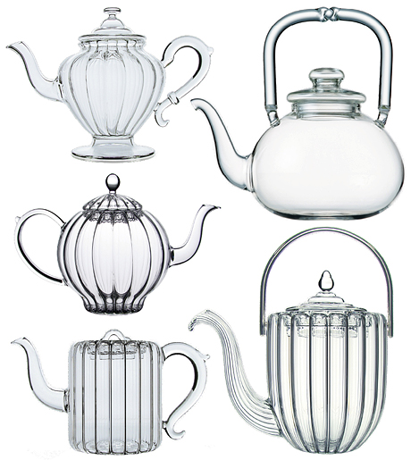 Take afternoon tea with a tres jolie glass teapot  « Life.Style.etc