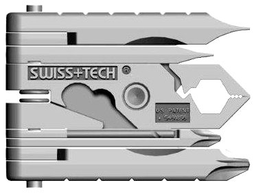 Amazon.com: Swiss+Tech MMCSSS Micro-Max 19-in-1 KeyChain MultiTool: Automotive