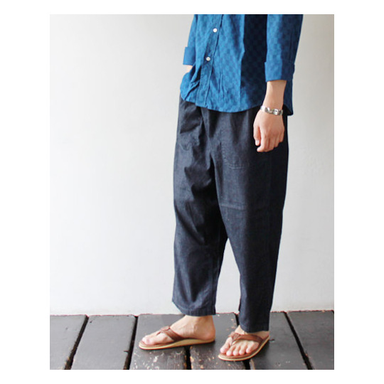 [TIGRE BROCANTE] 【再入荷】 Denim TAGOSAKU Pants (M's/L's) 商品詳細 TAKANNA/たかんな - ONLINE SHOP