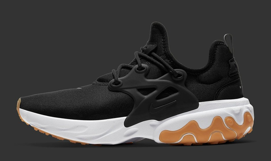 "The Nike React Presto Champions the Timeless ""Black/Gum"" Colorway - HOUSE OF HEAT 