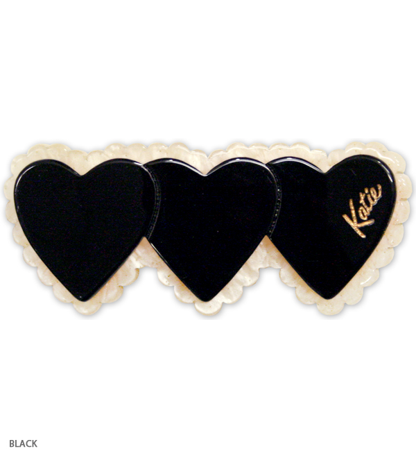 TRIPLE HEART fork clip - Katie Official Web Store
