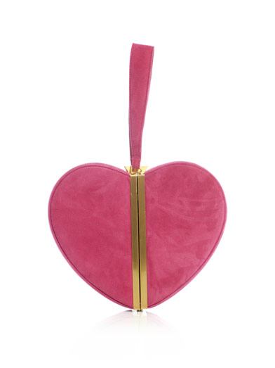 Heart box-clutch | Diane Von Furstenberg | Matchesfashion.com