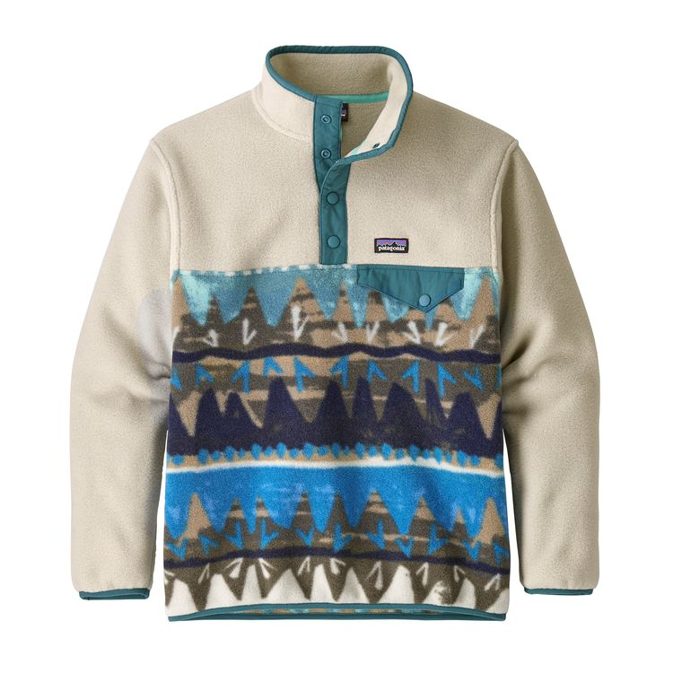 Patagonia Boys' Lightweight Synchilla® Snap-T® Pullover