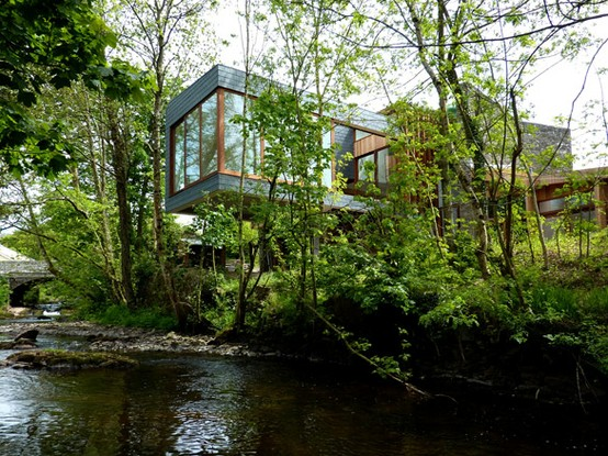 architecture / Ty Hedfan, Wales, by Featherstone Young