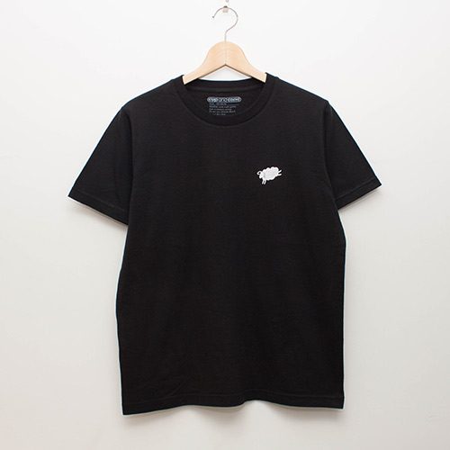 Basic Tee - Black - cup and cone WEB STORE