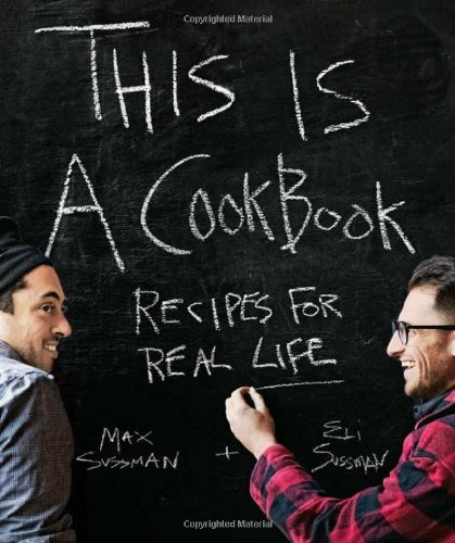 Amazon.co.jp: This is a Cookbook: Eli Sussman Max: 洋書