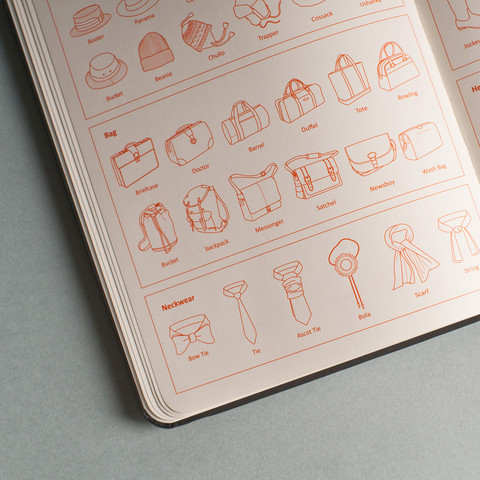 3939 Shop London | Unique product and art Fashionary notebook