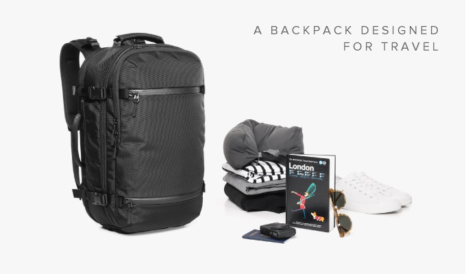 Aer Travel Pack: The Ultimate Carry-on Backpack by Aer — Kickstarter