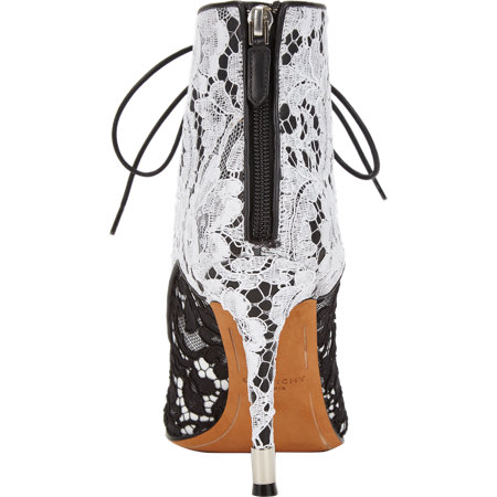 Givenchy Macrame Lace Ankle Boot at Barneys.com