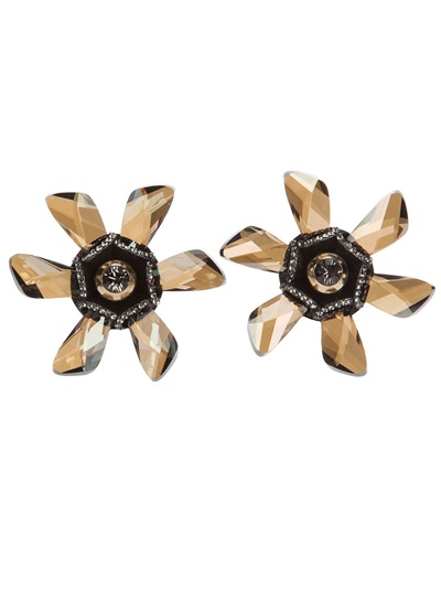 Lanvin Flower Earrings - Liska - farfetch.com