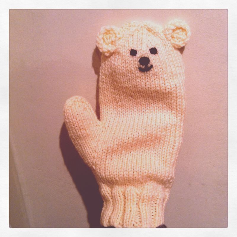 Fashion > new item - Polar bear mittens -