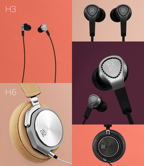BeoPlay H3 & BeoPlay H6